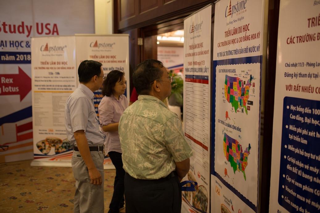 Spring 2018 StudyUSA Higher Education Fairs in All Three Regions of Viet Nam