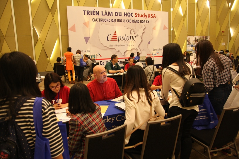 SPRING 2017 StudyUSA HIGHER EDUCATIONAL FAIRS – THE GREAT START FOR 2017 FAIR SERIES