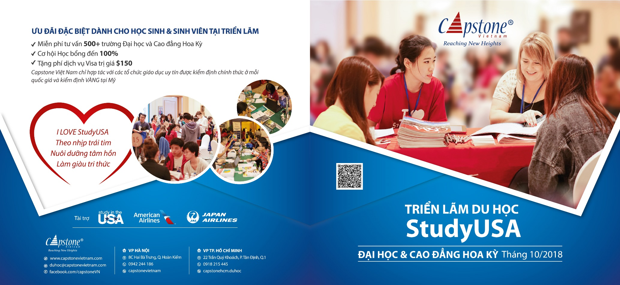 StudyUSA & Canada HIGHER EDUCATION FAIRS IN VIET NAM