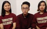 """Những chia sẻ """"siêu dễ thương"""" của học sinh Việt Nam đang theo học tại THORNTON ACADEMY"""